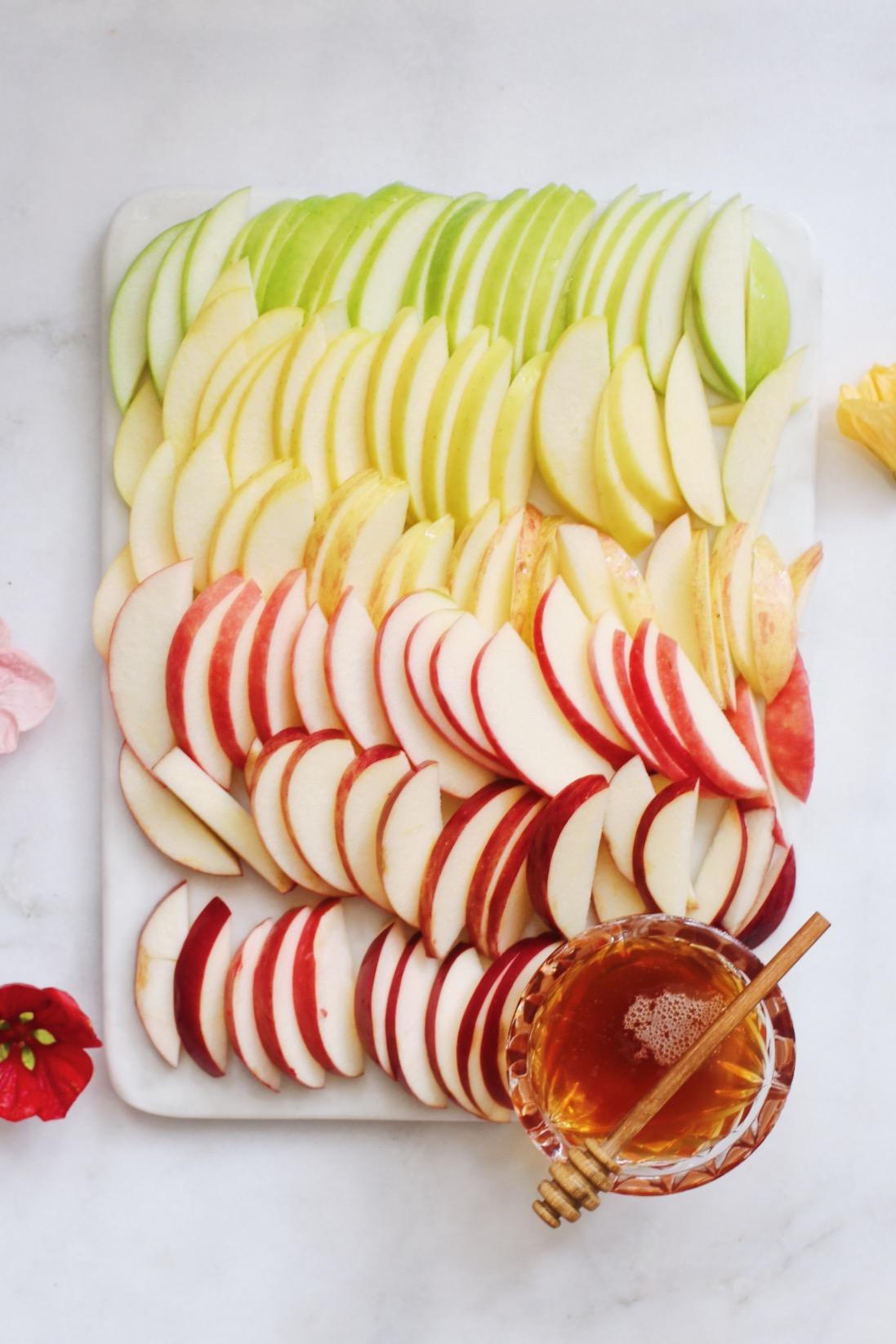 Colorful apples Rainbow apples